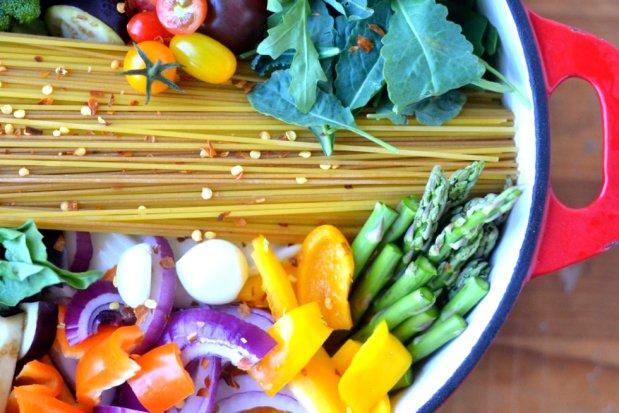Farmářské špagety z jednoho hrnce 3 Foto: