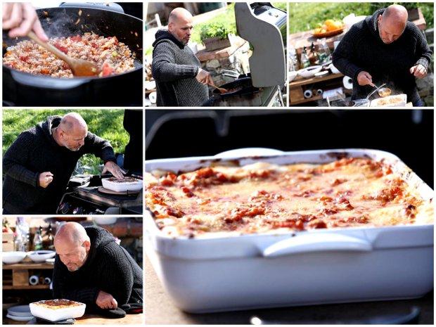 Lasagne s králičím ragú  Foto: