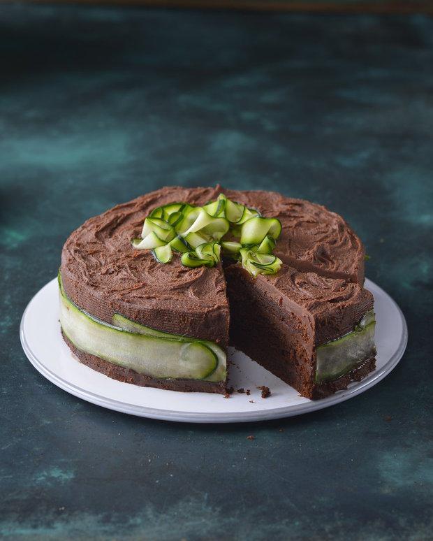 Cuketový čokoládový dort 2 Foto: