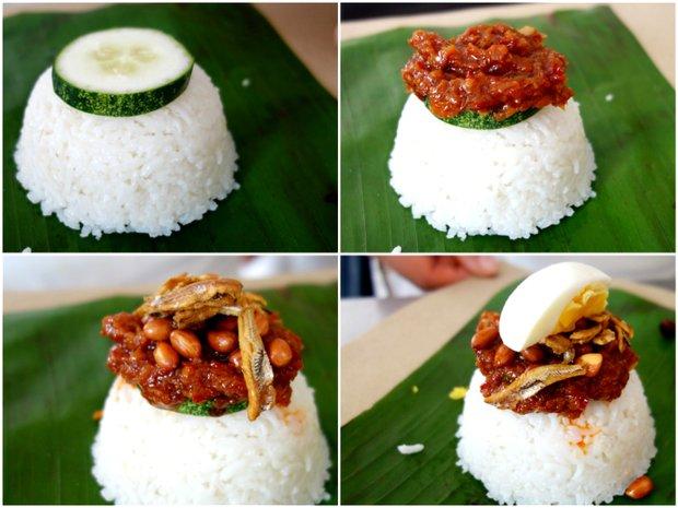 Za jídlem do Malajsie - Nasi Lemak Foto: