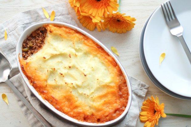 Pastýřský koláč - Shepherd´s pie  Foto: