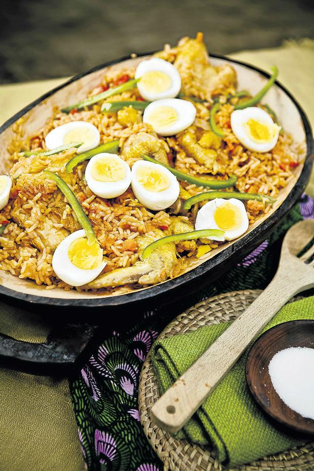 Jollof rýže Foto: isifa.com