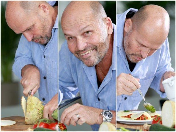 Celerové ravioli plněné pečenou paprikou  Foto: