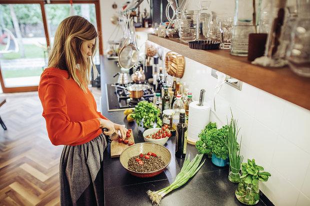 Čočkový salát s rajčaty a koriandrem 2 Foto: