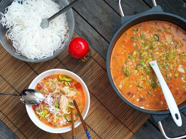 Asijská kokosová polévka 2 Foto: