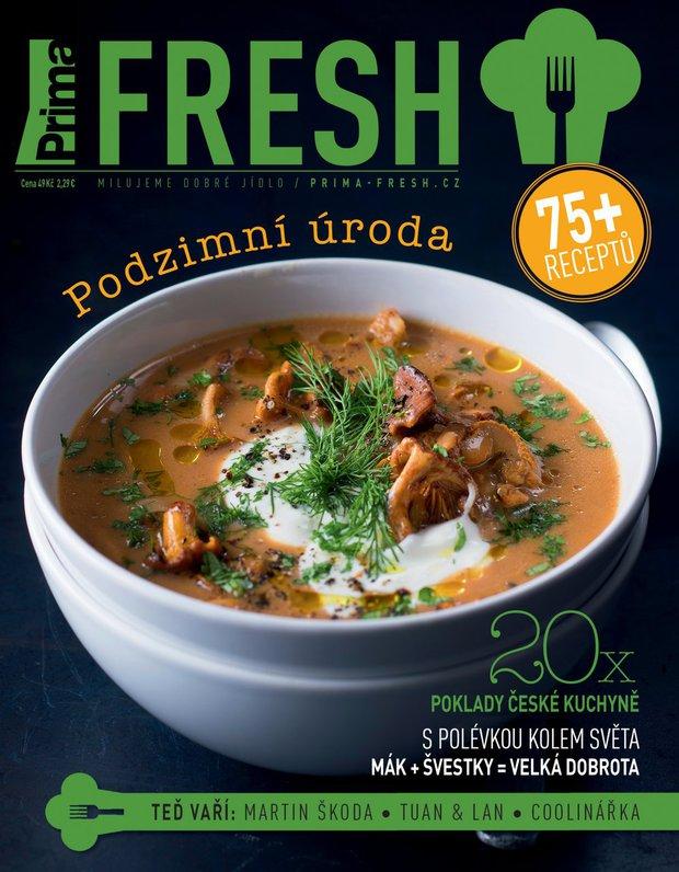 Časopis Prima FRESH podzim 2017 Foto: