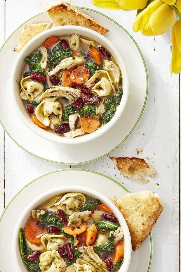 Kuřecí minestrone s pestem1 Foto: