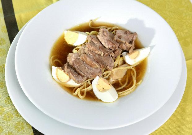 Japonská polévka s vepřovým masem Foto: Hermína / Prima