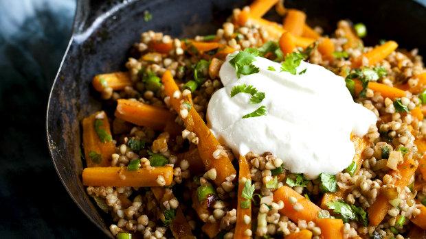 Marocký mrkvový salát s pohankou  Foto: