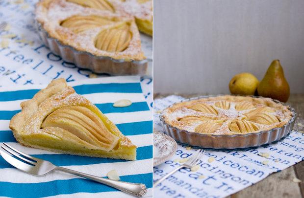 Hruškový koláč s mandlovou náplní 2 Foto: