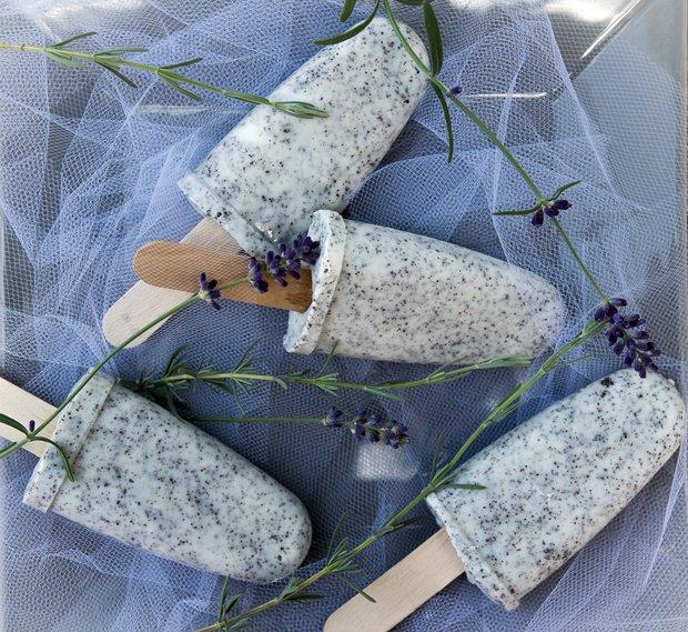 Tvarohovo–maková zmrzlina  Foto: