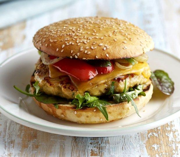 Kuřecí burgery s citronem  Foto: