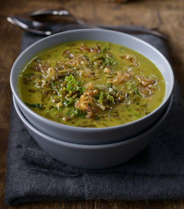 Čočková polévka s kokosovým mlékem Foto:
