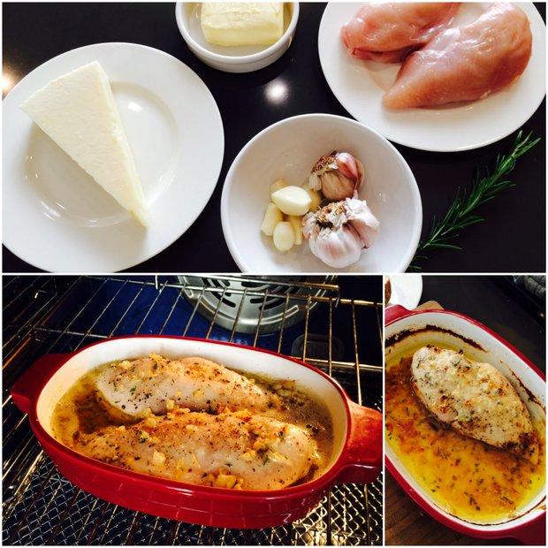 S Klárou v kuchyni: Pečené kuře v česnekovém másle  Foto: