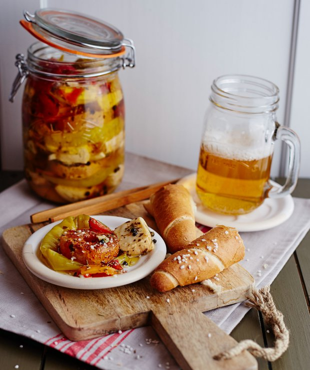 Olomoucké tvarůžky a zrající sýry naložené v pivě  Foto: