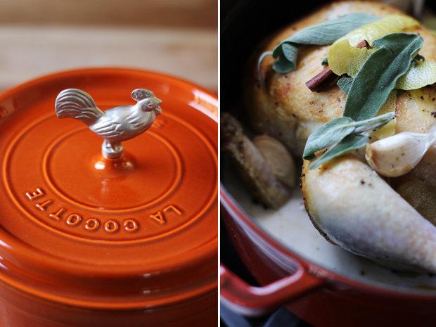 Kuře pečené v mléce 3 Foto: