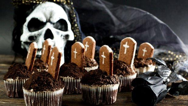 Strašidelné cupcaky  Foto: