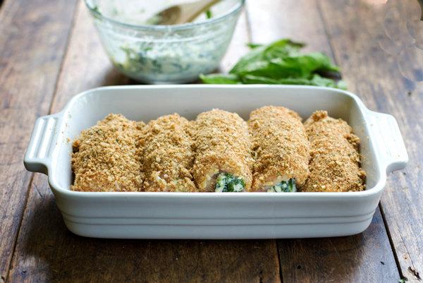 Kuřecí závitky s mozzarellou 2 Foto: