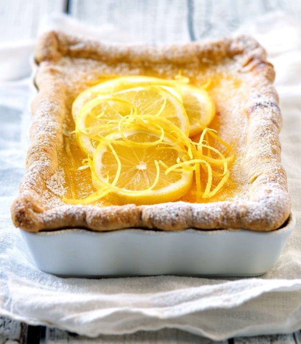 Podmáslový koláč s citronem  Foto: