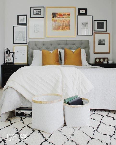 Barvy některých rámů mohou korespondovat s odstínem polštářků nebo jiných doplňků. Foto: