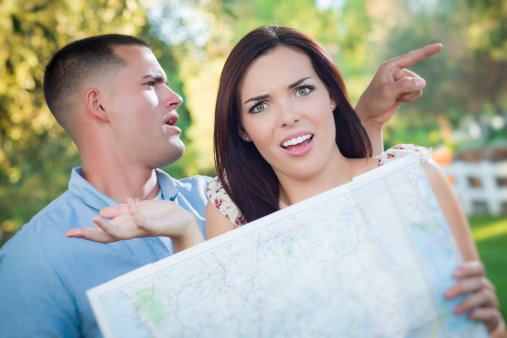 Muži čtou v mapách úplně jinak, než ženy Foto: