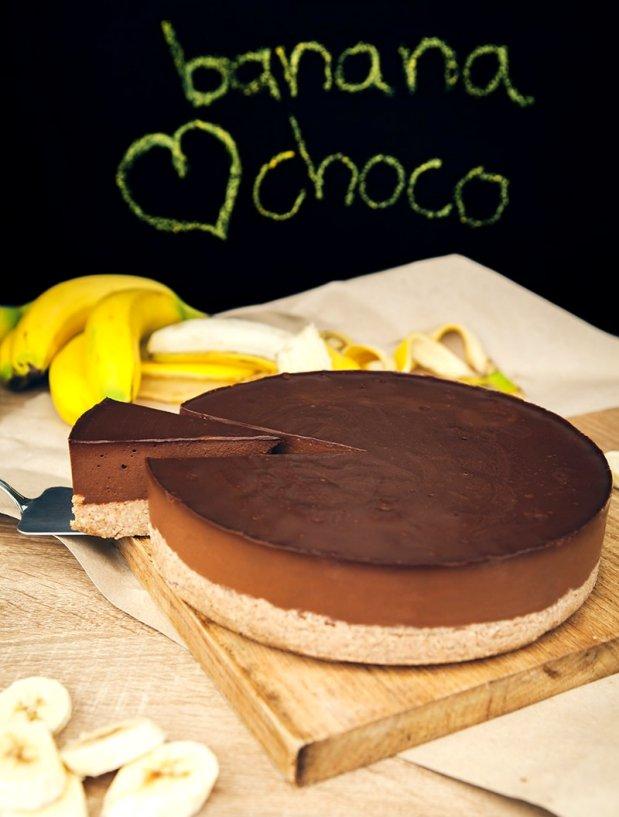 Čokoládovo-banánový dort Foto: