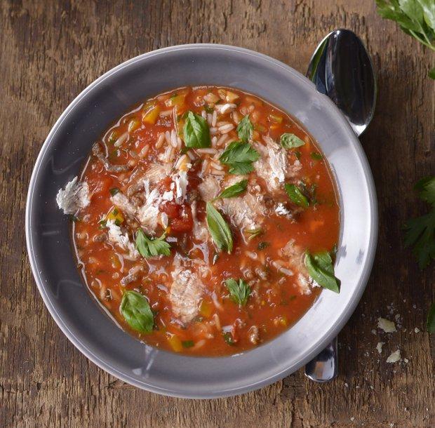 Polévka jako plněná paprika  Foto: