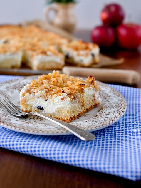 Jablečný koláč s tvarohem 2 Foto: