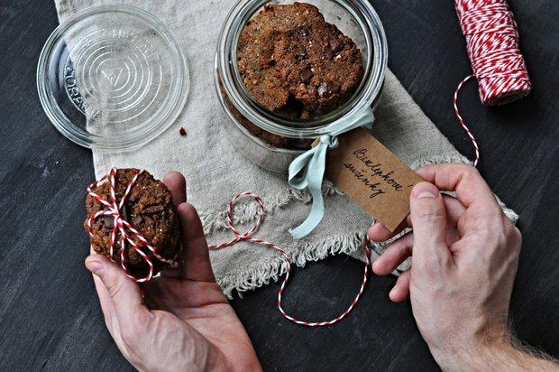 Čokoládové cookies s chia semínky 2 Foto: