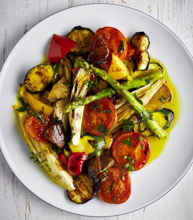 Šťavnatá grilovaná zelenina  Foto: