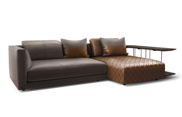Luxusní kožená sedačka. Foto: