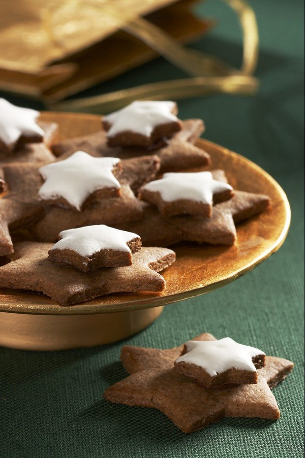 vánoční cukroví - skořicové hvězdičky Foto: