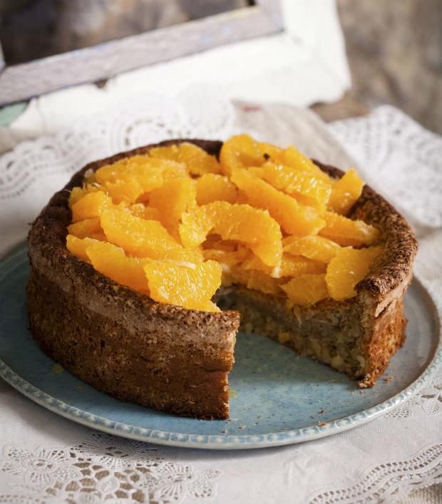 Bezlepkový mandlový dort s pomeranči Foto: isifa.com