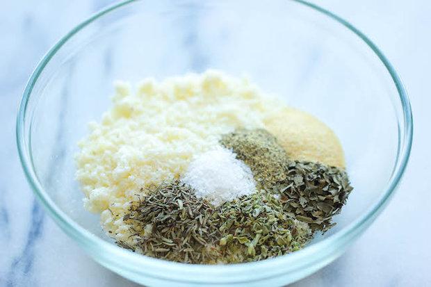 Pečené cuketové hranolky s parmazánem 2 Foto:
