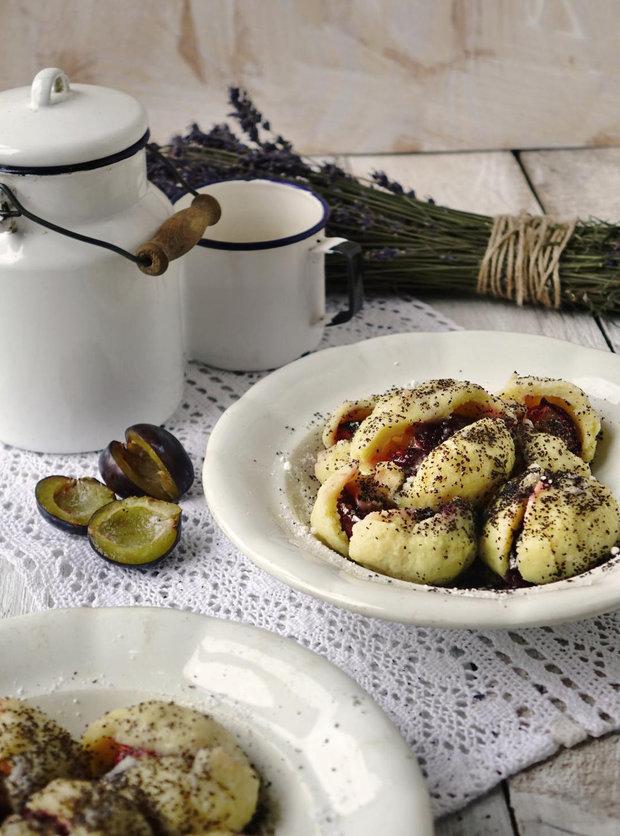 Švestkové knedlíky s marcipánem 2 Foto: