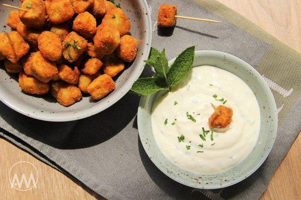 Lilkový snack s jogurtovým dipem 3 Foto: