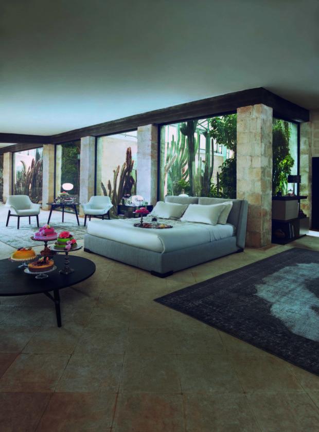 Nábytek je inspirovaný středomořským stylem. Foto: