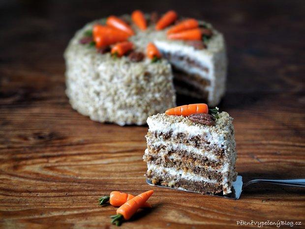 Mrkvovo-ořechový dort 2 Foto:
