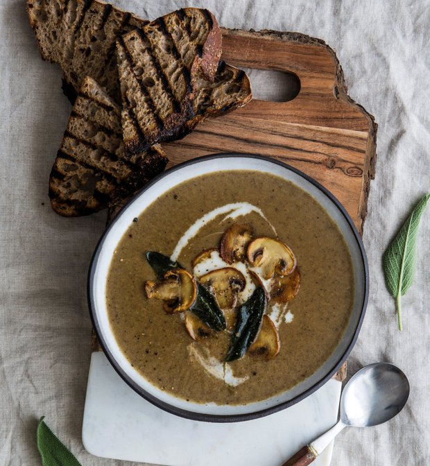 Krémová žampionová polévka  Foto: