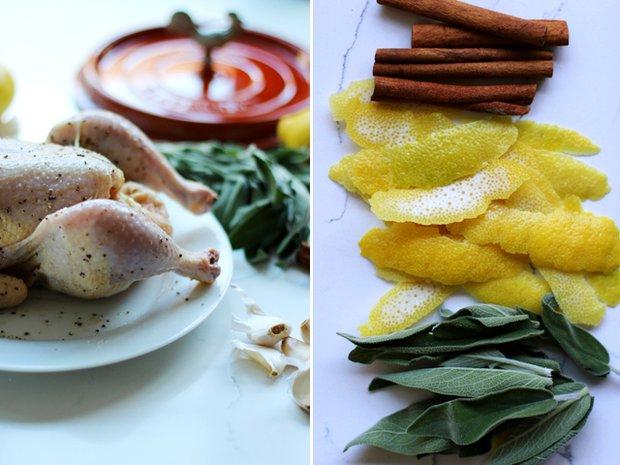 Kuře pečené v mléce 2 Foto: