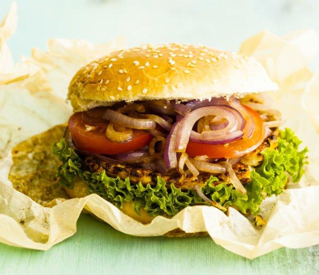 Květákový burger  Foto: