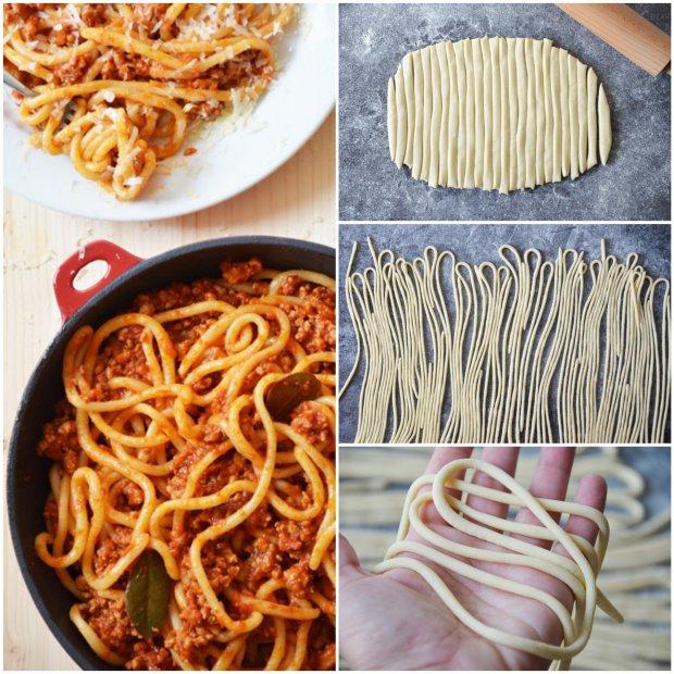 Pici pasta s vepřovým ragú Foto: