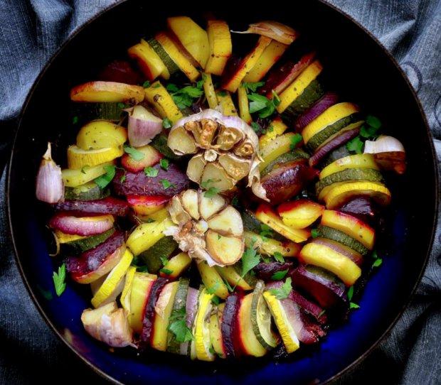 Pečená podzimní zelenina  Foto: