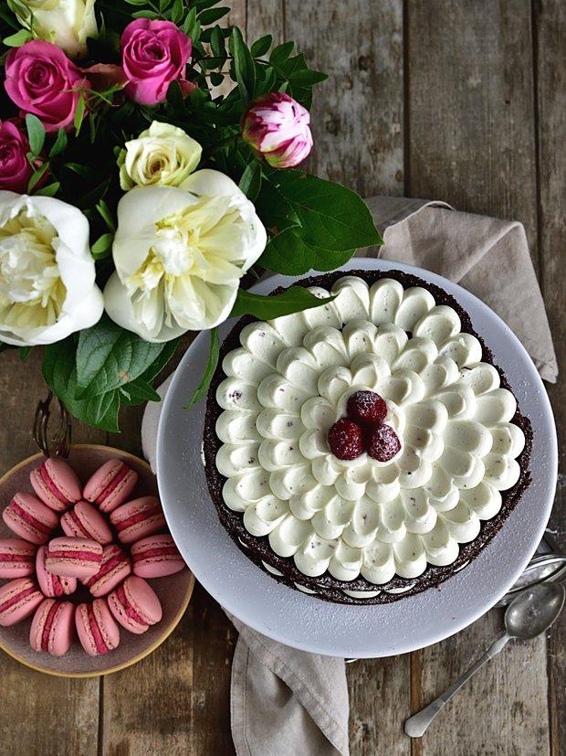 Nahatý dort s kakaovým korpusem 2 Foto: