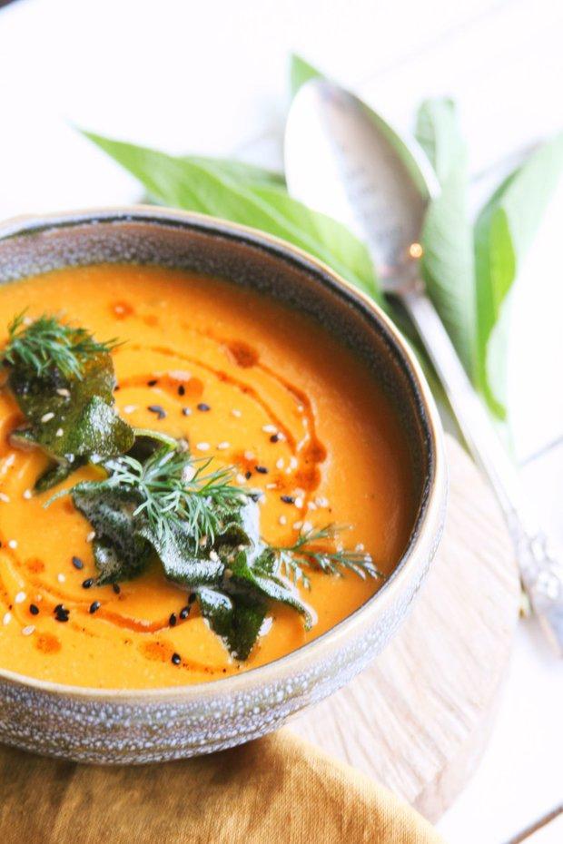 Uzená batátová polévka Foto: