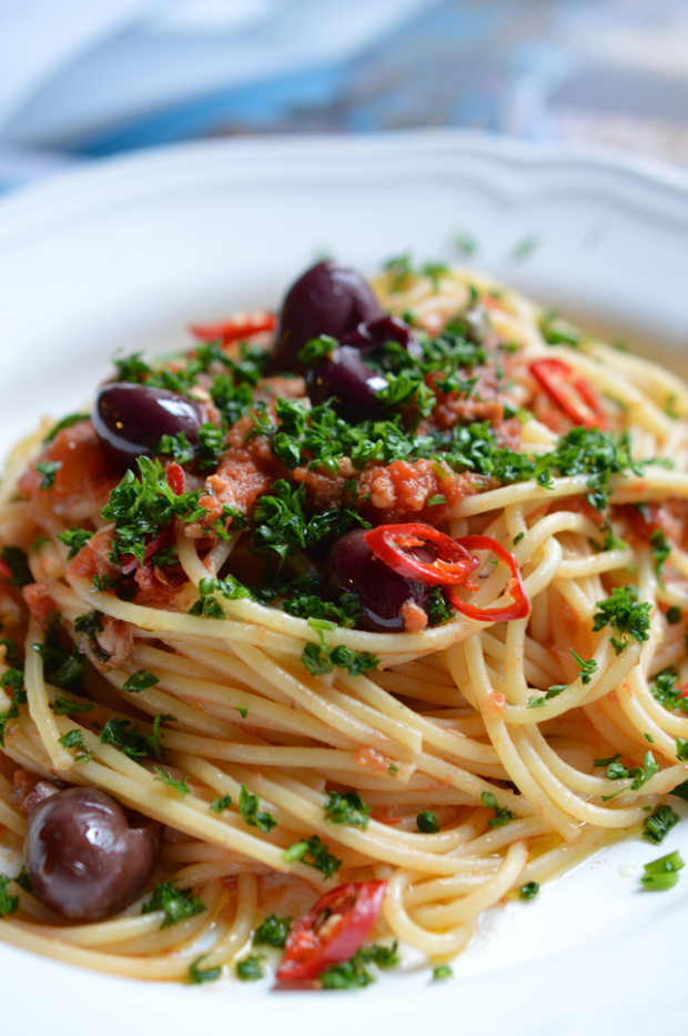 Spaghetti alla puttanesca  Foto: Thinkfood.cz