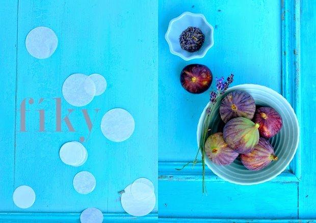 Fíky v karamelové omáčce s levandulí  Foto: Výpečky.com